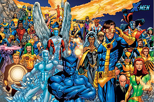X Men Characters Comic Les X-Men – Dossier ...